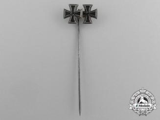 A Second War Iron Cross 1939 Grouping Stick Pin