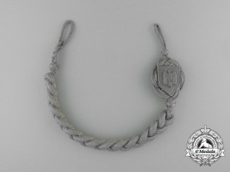 A Second War German First Type Wehrmacht Marksmanship Lanyard