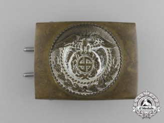 An Early Pattern SA Enlisted Man's Belt Buckle