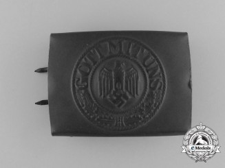 A Wehrmacht EM/NCO's Belt buckle