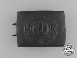 A Wehrmacht EM/NCO's Belt buckle