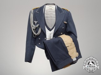 A Named Luftwaffe First Lieutenant Flight Instructor's Evening Gala Uniform