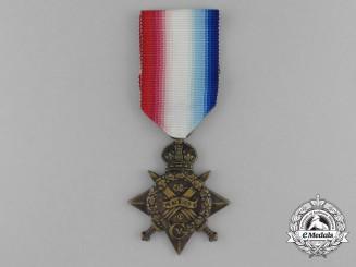 A 1914 Star to Gunner Benjamin Collier; 3rd Brigade, Royal Horse Artillery