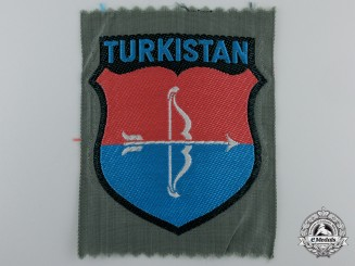 "A  Bevo ""TURKISTAN"" Foreign Volunteer Shield"