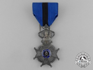 A Belgian Order of Leopold II, Knight, Type II (Post 1908)