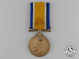 A British War Medal to Labourer Khan; 3rd Indian Painter Corps