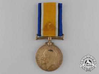 A British War Medal to Labourer Khan; 3rd Indian Painter Corps