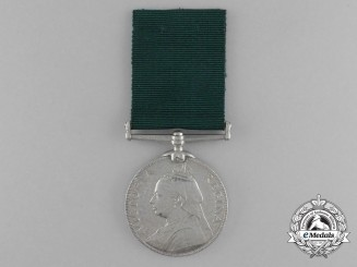 A Volunteer Long Service Medal to the Highland Light Infantry