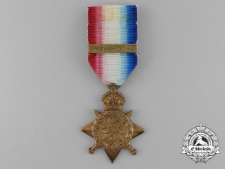 A 1914 Star to the 1st Kensington Battalion; KIA March 1915
