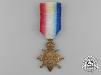 A 1914-15 Star to Private John Harman; The Queen's Regiment