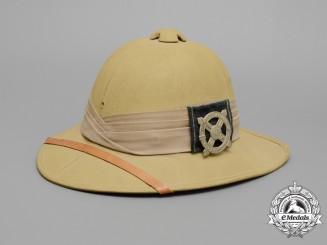 A Second War Highland Regiment Wolseley Pith Helmet