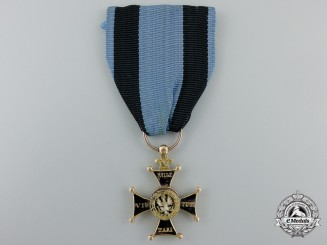 A Polish Military Order of the Duchy of Warsaw (1810-1812); Third Class