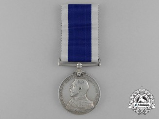 A Royal Naval Long Service and Good Conduct Medal; RMLI (Plymouth)