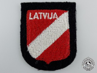 A Latvian (Latvija) SS Volunteer Sleeve Shield