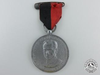 A Rare Dutch 1941 NSB Kerstmarch Mussert Medal