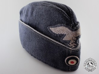 A Luftwaffe Officer's Overseas Cap.
