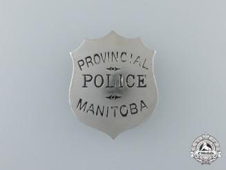 A Manitoba Provincial Police Badge