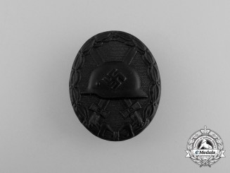 A Mint Black Grade Wound Badge by the Official Mint of Vienna