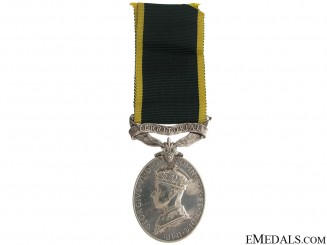 Efficiency Medal - Royal Artillery