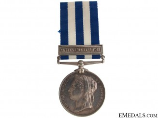 Egypt Medal 1882 - Alexandria 11th July