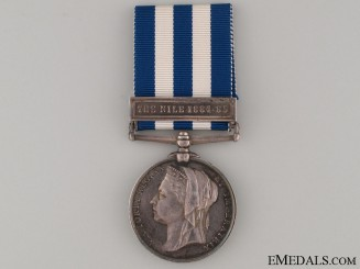 Egypt Medal 1882-1889 - Royal Irish Regiment