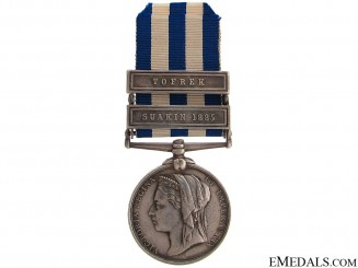 Egypt Medal - Royal Marine Light Infantry