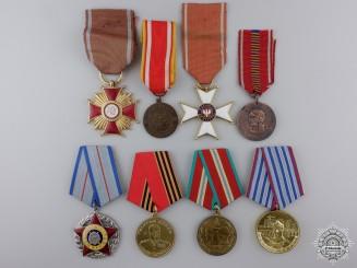 Eight European Medals & Awards