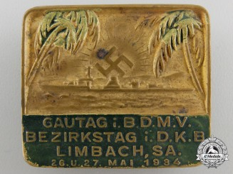 A 1934 German Colonial Badge