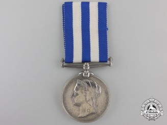 An 1882-1889 Egypt Medal to H.M.S. Tyne