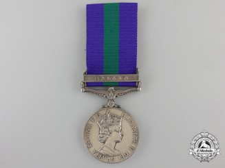 A General Service Medal to the Royal Army Medical Corps