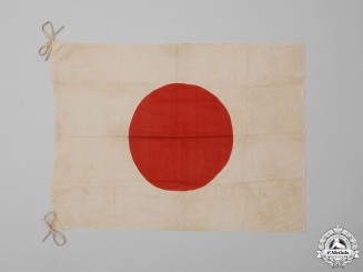 A Second War Japanese Battle Flag