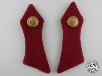 Croatia, Independent State. A Second War Pair of Collar Tabs