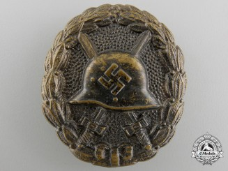 A Condor Legion Wound Badge; Black Grade