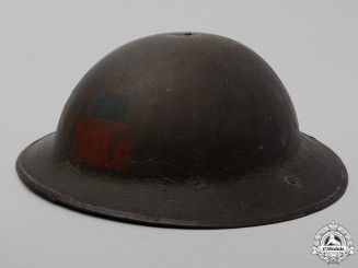 A Mark II 4th Canadian Infantry Battalion Helmet
