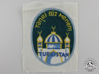 A Turkestan Legion (162nd Division) Volunteers Arm Shield