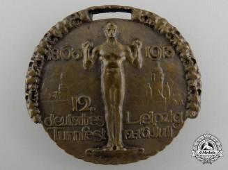 A 1913German Gymnastics Festival Badge by Ausf. Glaser & Sohn