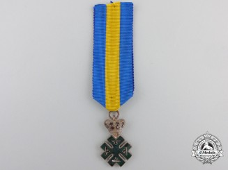Romania, Kingdom. An Order of Ferdinand I, Miniature