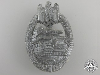 A Silver Grade Tank Assault Badge