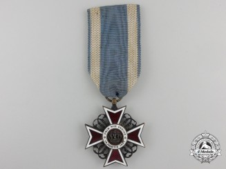 An Order of the Romanian Crown;1881-1932 Knight's Cross