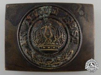 A German Imperial EM Belt Buckle