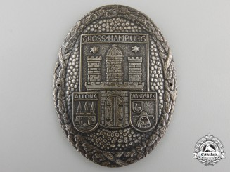 A Freikorps Gross-Hamburg Shield