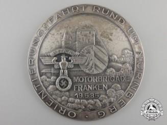 A 1935 NSKK Nurnburg Franconia Motor Brigade Award