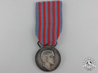An Italian Campaign Medal for Service in Libya