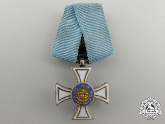 A Miniature Prussian Order of the Crown