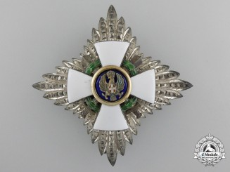 Italy. An Order of the Roman Eagle, Grand Officer's Star with Swords, c.1942