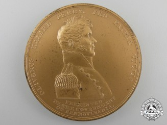 An 1813 Battle of Lake Erie Commemorative Medal