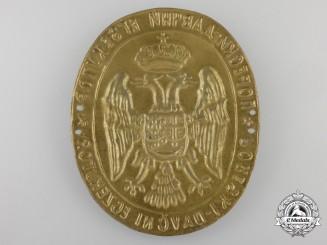 Yugoslavia, Kingdom. A Tax Collectors Insignia, c.1935