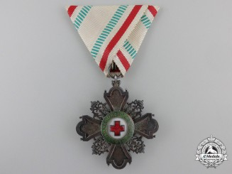 Bulgaria, Kingdom. A Red Cross Order, Third Class Knight