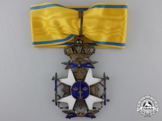 A Swedish Order of the Sword; Commander`s Cross