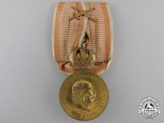 An Austrian Military Merit Medal